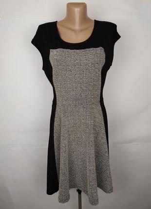 Платье модное трикотажное по фигуре river island uk 14/42/l