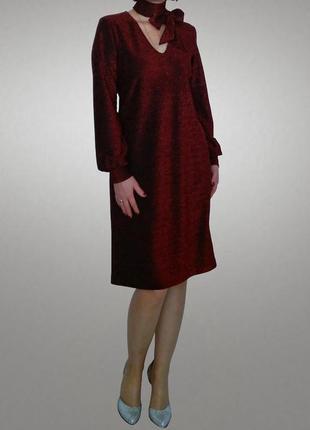 Очень красивое платье с люрексом