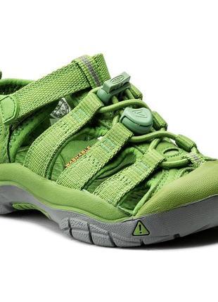 Сандалии keen newport h2 1018261 fluorite green оригінал
