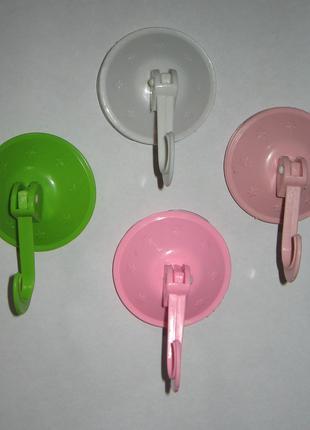 Крючек вешалка на присоске для ванной, кухни