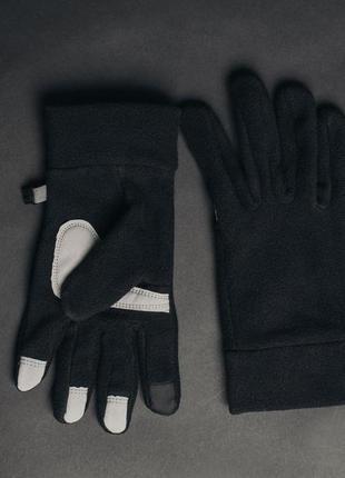 Перчатки staff fleece dark size s-m
