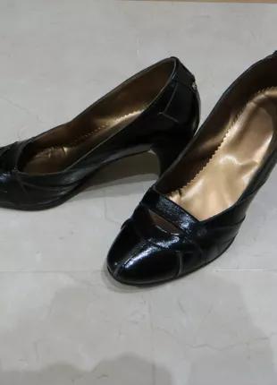 Туфли из натуральной кожи {польша}