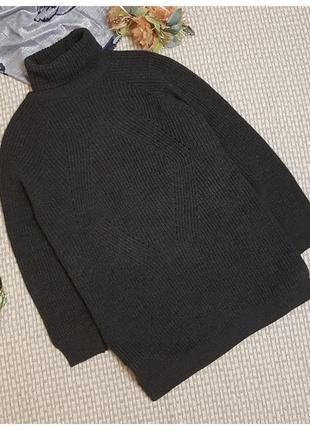 Вязаное платье-туника, свитер missguided
