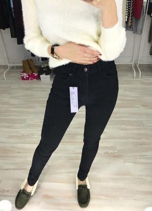 Черные джинси классика зара