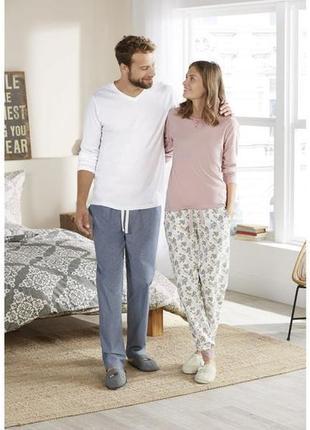 Мужская пижама домашний костюм livergy германия, штаны реглан