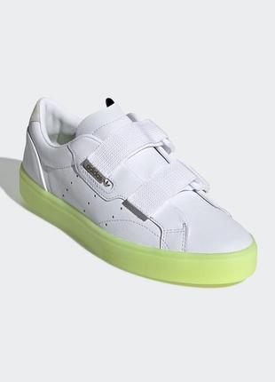 Женские кроссовки adidas originals sleek s(артикул:ee8279)
