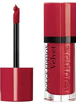 Помада rouge edition velvet, от bourjoios