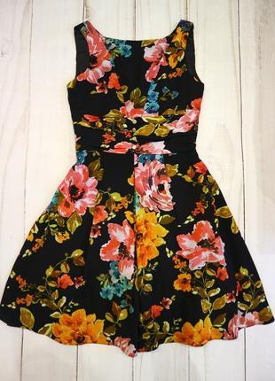 Эффектное платье в цветочный принт, ted baker, s