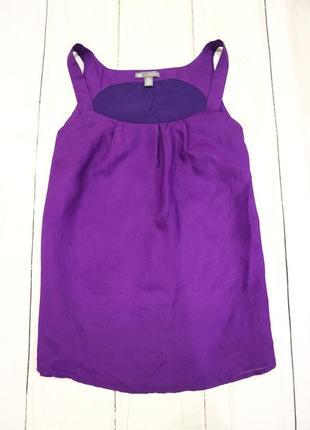 Майка, блузка, 100% шёлк, gap, s-m