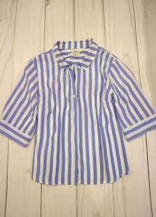 Лёгкая рубашка в полоску, j.crwe, xxl-xxxl