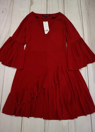 Платье с воланами, s-m