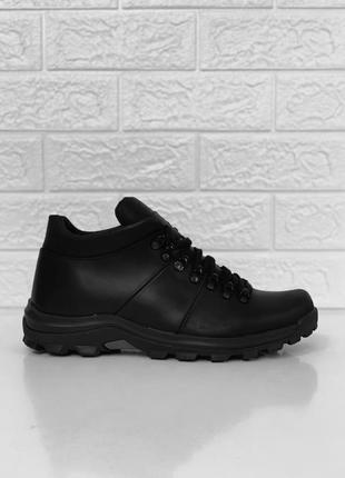 Зимние мужские ботинки easer кожа/шерсть! распродажа!
