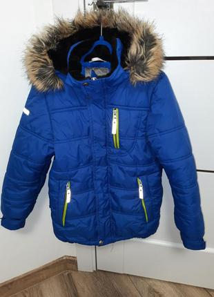 Зимняя куртка lenne рост 128 - 134, утеплитель - 330 грамм