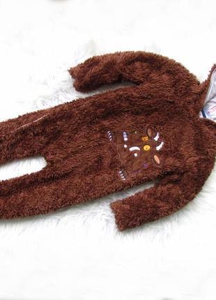 Комбинезон костюм человечек ромпер с капюшоном the gruffalo