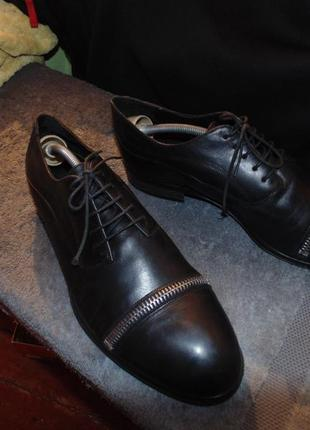 Туфли emporio armani кожа оригинал серийный номер размер 43