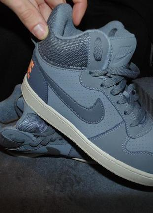 Кроссовки ботинки nike air кожа замша оригинал по сути новые р...