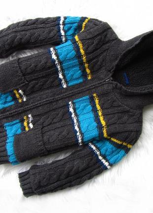 Стильная теплая кофта свитер куртка  реглан   с капюшоном cher...
