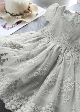 Платье нарядное кружевное шикарное