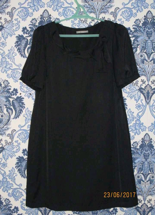 Черное платье 52 размера