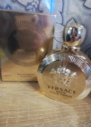 !оригинал! 100мл versace eros pour femme парфюмированная вода