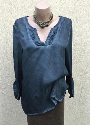 Блуза,рубаха из атласного шёлка,выборка,этно,бохо стиль,большо...