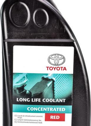 Антифриз Toyota Long Life Coolant G12 концентрат красный 1л 08...