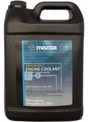 Антифриз Mazda Gold Coolant Bittering Yellow -37 °C 3.785л 000...