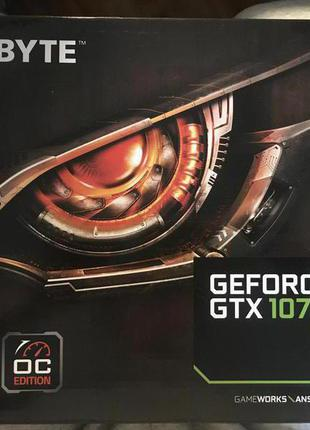 Видеокарта Gigabyte GeForce GTX 1070 WINDFORCE OC 8G (rev. 2.0) Н