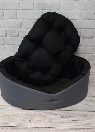 Лежак + подушка для кошек и собак