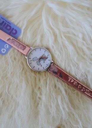 Часы claire's наручные, kawaii, с единорогом, новые, с биркой,...