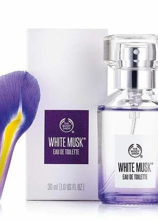 Туалетная вода the body shop white musk® eau de toilette, 30 м...