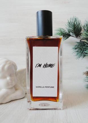 Натуральный парфюм lush i'm home /британский vegan бренд/100мл