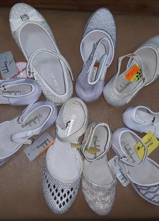 Нарядные туфли 23-37 р на девочку, распродажа