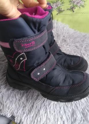 Сапоги ботинки Суперфит 31 р (20 см стелька)