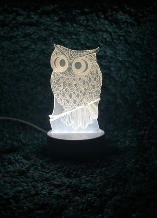 ПОДАРОК!!! 3D светильник