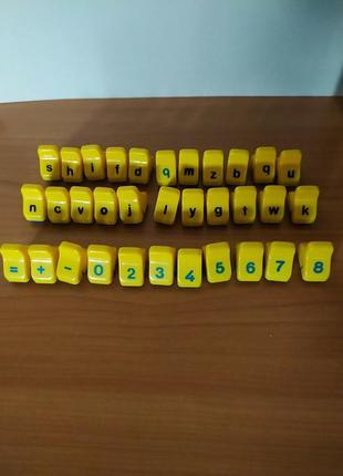 Продам детские печати для изучения цифры, буквы