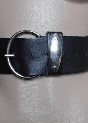 Ремень шкіряний на талію 73-101 см
