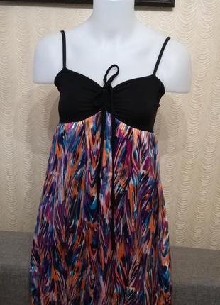 Платье в пол на бретелях размер 38-40