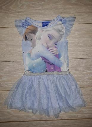 Милое платье young dimension на 3-4 года