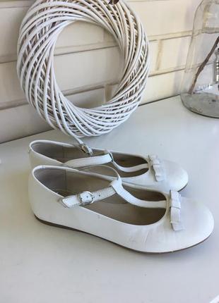 Кожаные туфли camelot 34 размера