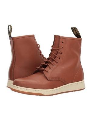 Dr. martens newton 8-eye ● 42р ● кожаные демисезонные ботинки....