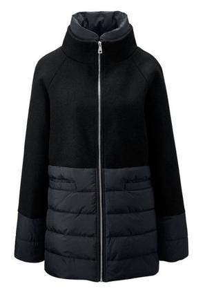 Шикарное  пальто с шерстью, от тсм tchibo (чибо), германия, ев...