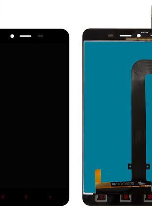 Дисплей Xiaomi Redmi Note 2 с сенсором черный