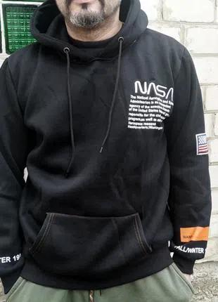 Худи NASA кофта Heron Preston на флисе