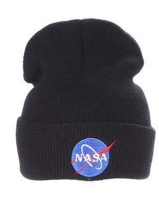 13-243 крута шапка модная вязаная шапка nasa