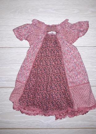 Милое платье i love next на 9-12 мес 2015г