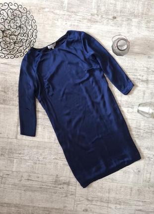 Шикарное платье атласное классическое