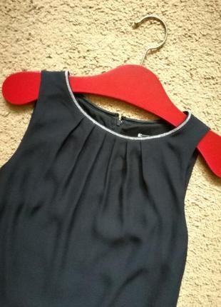 Платье в стиле massimo dutti прямого свободного кроя размер 34-36