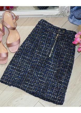 Твидовая юбка new look💫🌺