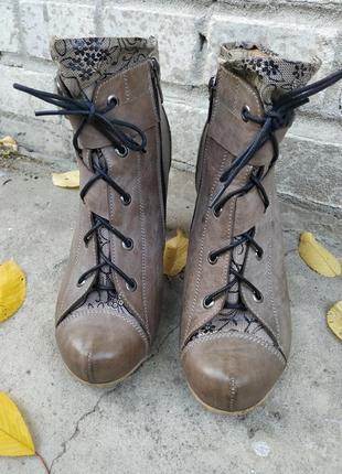 Ботильони, черевики